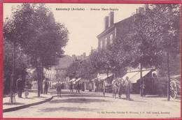 CPA 07 ANNONAy  Avenue Marc Seguin ( Animé - Annonay