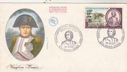 REUNION FDC Yvert  387 Napoléon Bonaparte - St Denis 16/8/1969 - Reunion Island (1852-1975)