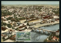 FRANCE (1981). Carte Maximum Card - COGNAC (bridge, Pont, Puente, Vineyard, Wine) - Cartas Máxima