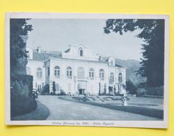 Cartolina Villar Perosa Villa Agnelli 1950 - Cuneo