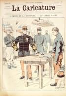 LA CARICATURE-1886-355-AMOUR Et DISCIPLINE-CARAN D'ACHE RIP TROCK DRANER JOB-SUCCI/LUQUE - Libri, Riviste, Fumetti
