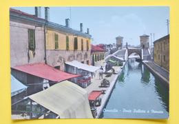 Cartolina Comacchio Ponte Pallotta E Mercato 1965 - Ferrara