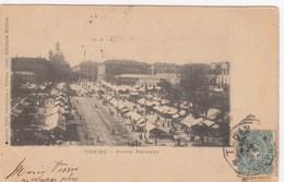 TORINO-PORTA PALAZZO-BELLISSIMA CARTOLINA VIAGGIATA IL 18-11-1900 - Italia