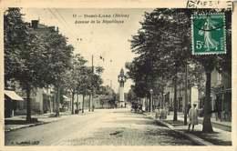 #080719 - 69 DEMI LUNE Avenue De La République - Tramway Pub Picon - Horloge - Frankrijk