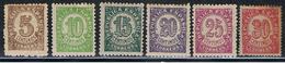 (3E 260) ESPAÑA // YVERT 612, 613, 614, 615, 616, 617 // EDIFIL 745, 746, 747, 748, 749, 750 // 1938  NEUF - 1931-50 Nuovi