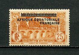 AEF 1936 N° 8 ** Neuf MNH Luxe Viaduc De Mindouli - A.E.F. (1936-1958)