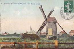 Pas-de-Calais - Environs De Calais - Sangatte - Un Moulin à Vent - Sangatte