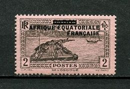 AEF 1936  N° 18 **  Neuf MNH Superbe  C 1,04 €  Sur Le Fleuve Oggooué Bateaux Boats Ships - A.E.F. (1936-1958)