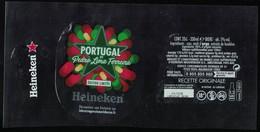 France Lot 3 Étiquettes Bière Beer Labels Bière Heineken Portugal By Pedro Lima Ferreira - Birra