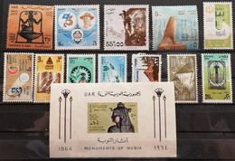 """Egypt  1980""""s MIXED LOT NO GUM - Unused Stamps"""