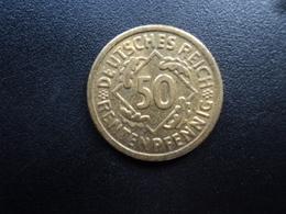 ALLEMAGNE : 50 RENTENPFENNIG   1924 A   KM 34    SUP+ - [ 3] 1918-1933 : Weimar Republic