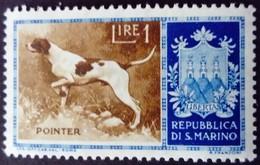 Saint Marin San Marino 1956 Animal Chien Dog Yvert 413 ** MNH - Ungebraucht