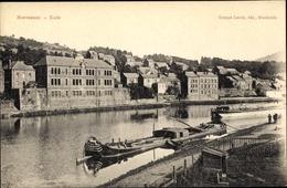 Cp Monthermé Ardennes, Vue De L'École - France