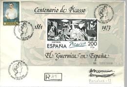 POSTMARKET 1982  ESPAÑA - Picasso