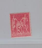 FRANCE - YT N° 98 - Neuf * - 1876-1898 Sage (Tipo II)
