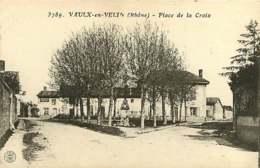 #080719A - 69 VAULX EN VELIN Place De La Croix - Farges éditeur - Vaux-en-Velin