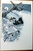 N°86 STEINLEN COLLECTION DES CENT N°3 (1902) COUPLE DEVANT UN MOULIN ADECA NEUDIN 1978 TIRAGE LIMITE N° 852/1000 - Peintures & Tableaux