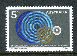 Australia 1969 50th Anniversary Of International Labour Organisation MNH (SG 439) - Mint Stamps