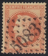 Lauré N°31 Oblitéré GC 5083 Constantinople (Turquie) - 1863-1870 Napoléon III. Laure