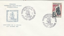 REUNION FDC Yvert 365 Peuplement Ile Bourbon - Cachet   St Denis 1965 - Illustration 5 - Reunion Island (1852-1975)