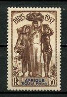 AEF 1937  N° 30 * Neuf MH Légère Trace De Charnière  C 7 € Exposition Internationale De Paris 1937 Flore Fruits - A.E.F. (1936-1958)