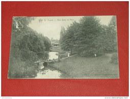 SINT TRUIDEN - SAINT TROND -  Zicht Op Het Park -  Une Vue Dans Le  Parc   -  1909  - - Sint-Truiden