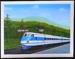 Burkina Faso 1998**Mi.bl.185 Trains ,MNH [3;55] - Eisenbahnen