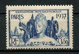 AEF 1937  N° 32 * Neuf MH Légère Trace De Charnière  C 3,80 € Exposition Internationale De Paris 1937 - A.E.F. (1936-1958)