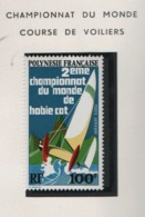 Polynésie °° 1974  Pa 83  Cote:33 Voiliers Sport Navire Course - Neufs