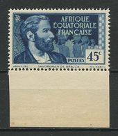 AEF 1937 N° 44 ** Neuf MNH Superbe Savorgnan De Brazza - A.E.F. (1936-1958)