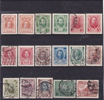 # Z.10181 Russia 1913 Incomplete Set Used, (x), Michel 82 - 91, 93, 95 - 96: 3rd Centenary Romanov Dynasty - 1857-1916 Empire