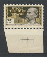 AEF 1937 N° 48 ** Neuf MNH Superbe Emile Gentil - A.E.F. (1936-1958)