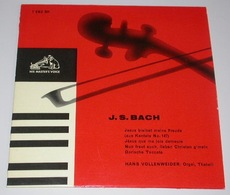 Bach J. S. Hans Vollenweider 7 Ebz 501 Swiss) Ex Nm - Classical