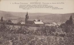 Montsauche 58 - Panorama Au-dessus De La Ville - Poésie Achille Millien - Montsauche Les Settons