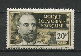 AEF 1937 N° 62 ** Neuf MNH Superbe Liotard - A.E.F. (1936-1958)