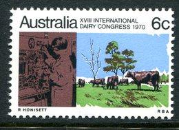 Australia 1970 18th International Dairy Congress MNH (SG 474) - Mint Stamps