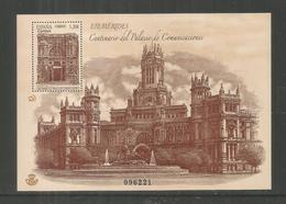 ESPAÑA CENTENARIO PALACIO DE COMUNICACIONES ARQUITECTURA MADRID - Monumentos