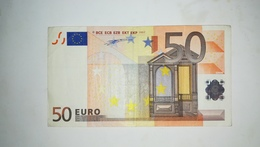 EURO- GERMANY 50 EURO (X) R020 Sign DUISENBERG - EURO