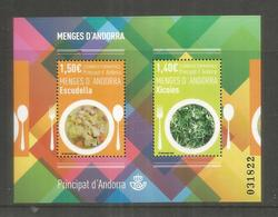 ANDORRA HOJITA GASTRONOMIA COMIDA ESCUDELLA XICOIES - Alimentación