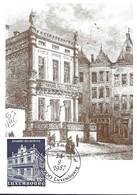 5.9.1987  -  La Chambre Des Députés Construite En 1859 Sur L'emplacement De L'ancienne église De Saint-Nicolas En 1778 - Cartes Maximum