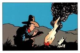 CPM - LES AVENTURES De TINTIN - Edition HERGE Moulinsart - Comics
