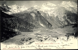Cp Preda Bergün Bravuogn Kt. Graubünden Schweiz, Ort, Piz D'Aela, Gebirge - GR Grisons