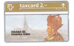 Schweiz  - Die Goldenen Königskarten - Friedrich III Deutscher Kaiser  - 2,- PTT - 306L - Mint - Switzerland