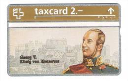 Schweiz  - Die Goldenen Königskarten - Georg V  König Von Hannover  - 2,- PTT - 306L - Mint - Switzerland