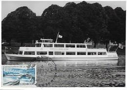 28.5.1966  -  Bateau Princesse Marie-Astrid  -  Photo Véritable - Cartes Maximum