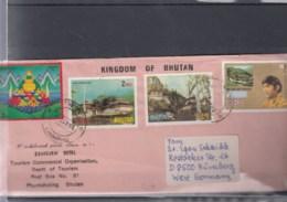 Bhutan Michel Cat.No. Cover - Bhutan