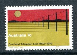 Australia 1972 Centenary Of Overland Telegraph MNH (SG 517) - Mint Stamps