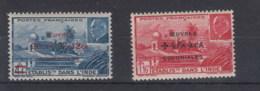 Französisch Indien  Michel Cat.No.  Mnh/** 269/270 - Unused Stamps