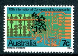 Australia 1972 Tenth International Congress Of Accountants MNH (SG 522) - Mint Stamps