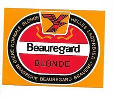 ETIQUETTE BIERE / BR. BEAUREGARD / SUISSE - ZWITSERLAND - Beer